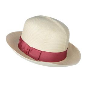 Members Panama Hat Ribbon